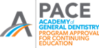Academy of General Dentistry PACE Logo